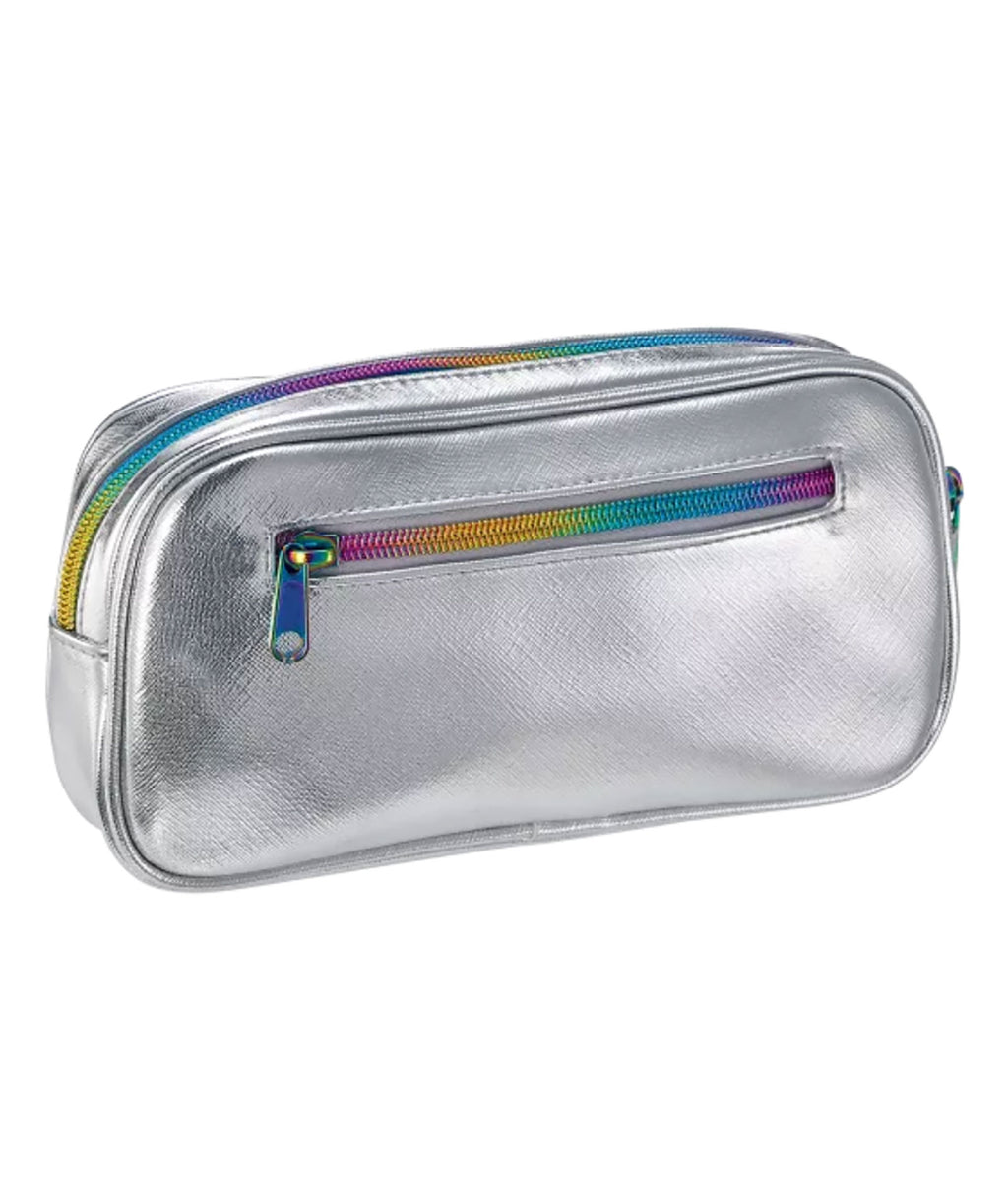 iScream Small Cosmetic Bag Silver