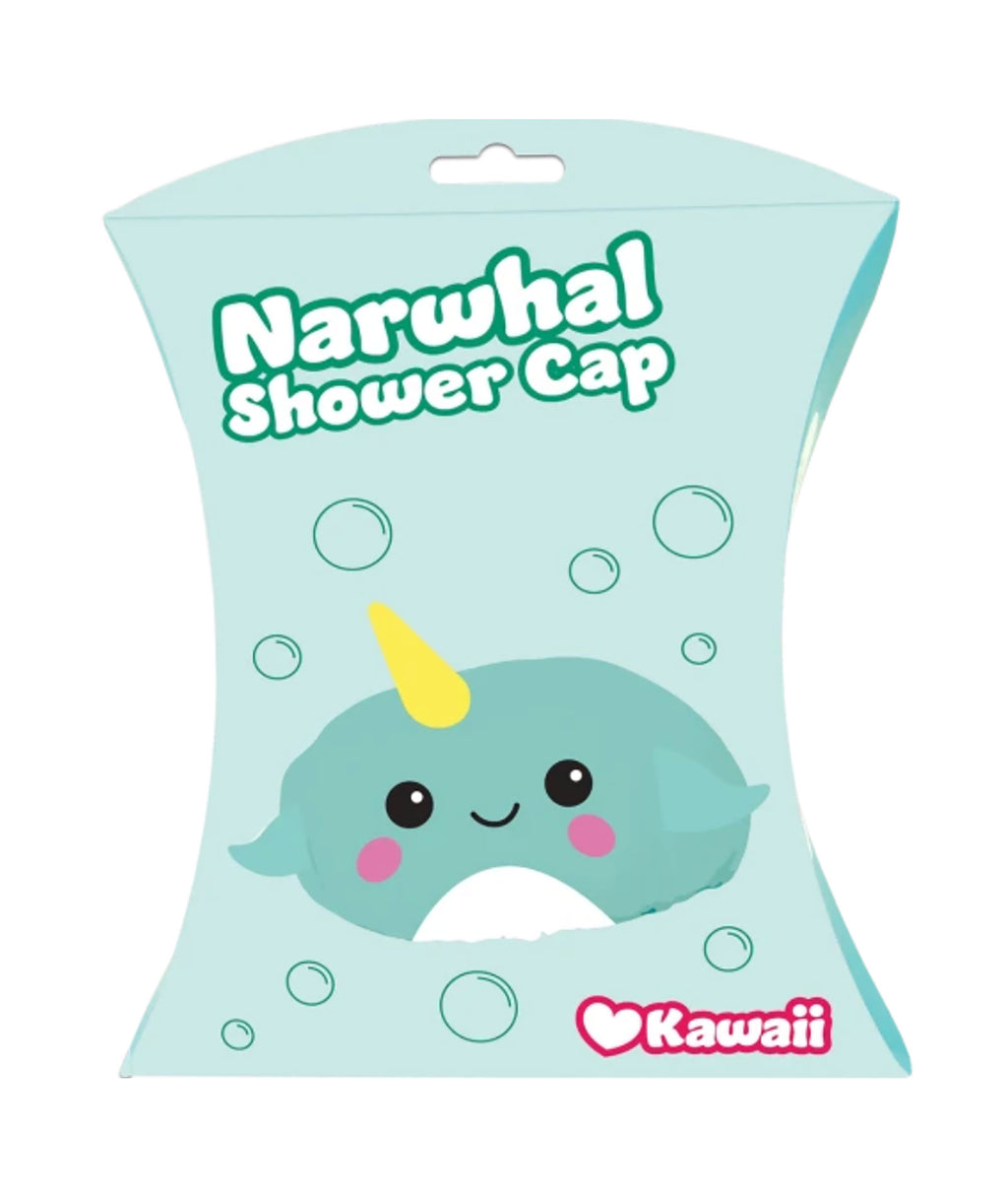 iScream Narwhal Shower Cap