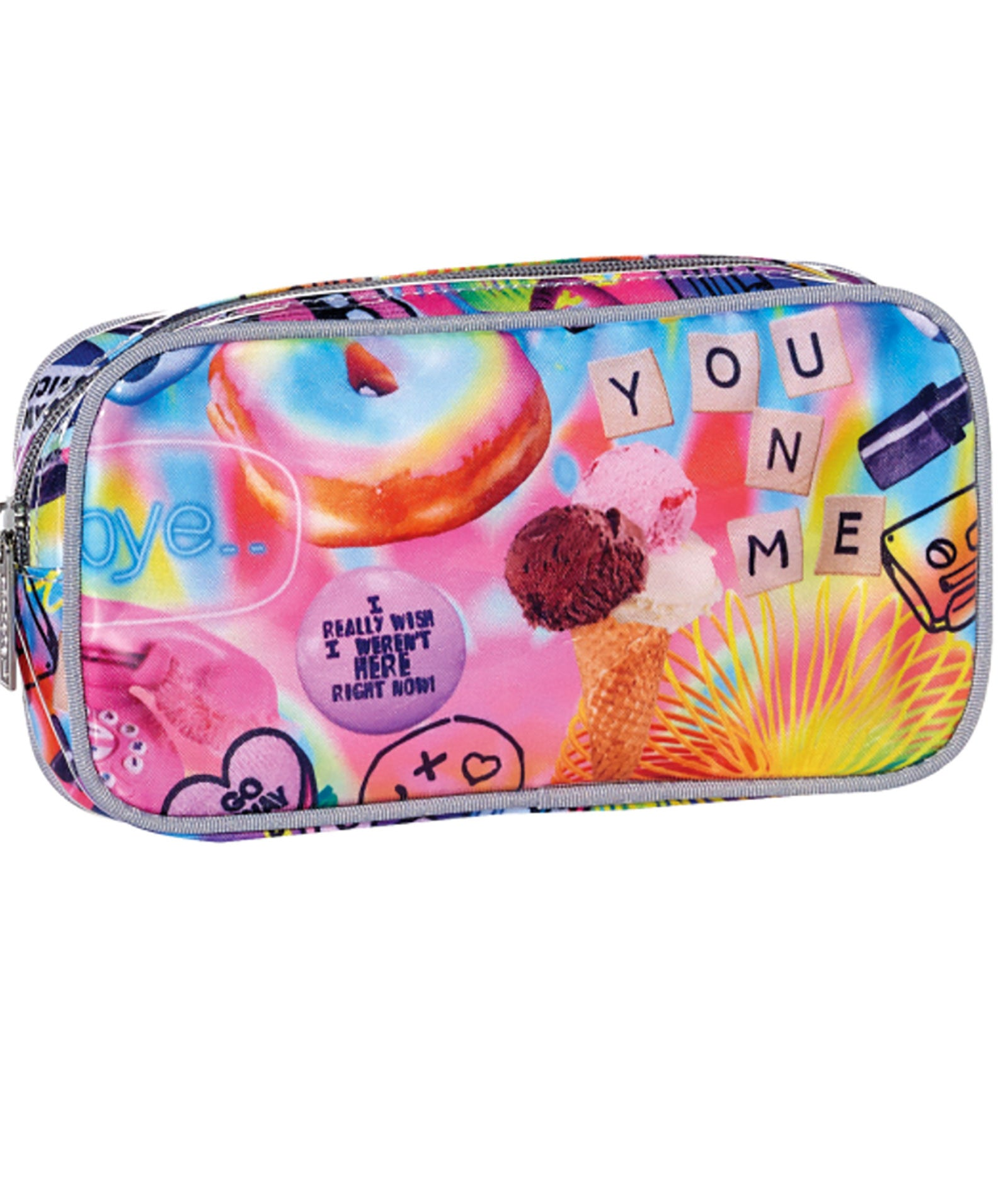 iScream Psychedelic Small Cosmetic Bag