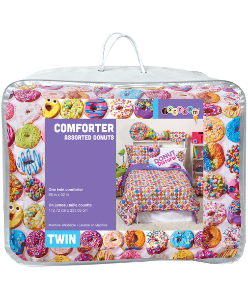 iScream Assorted Donuts XL Twin Comforter