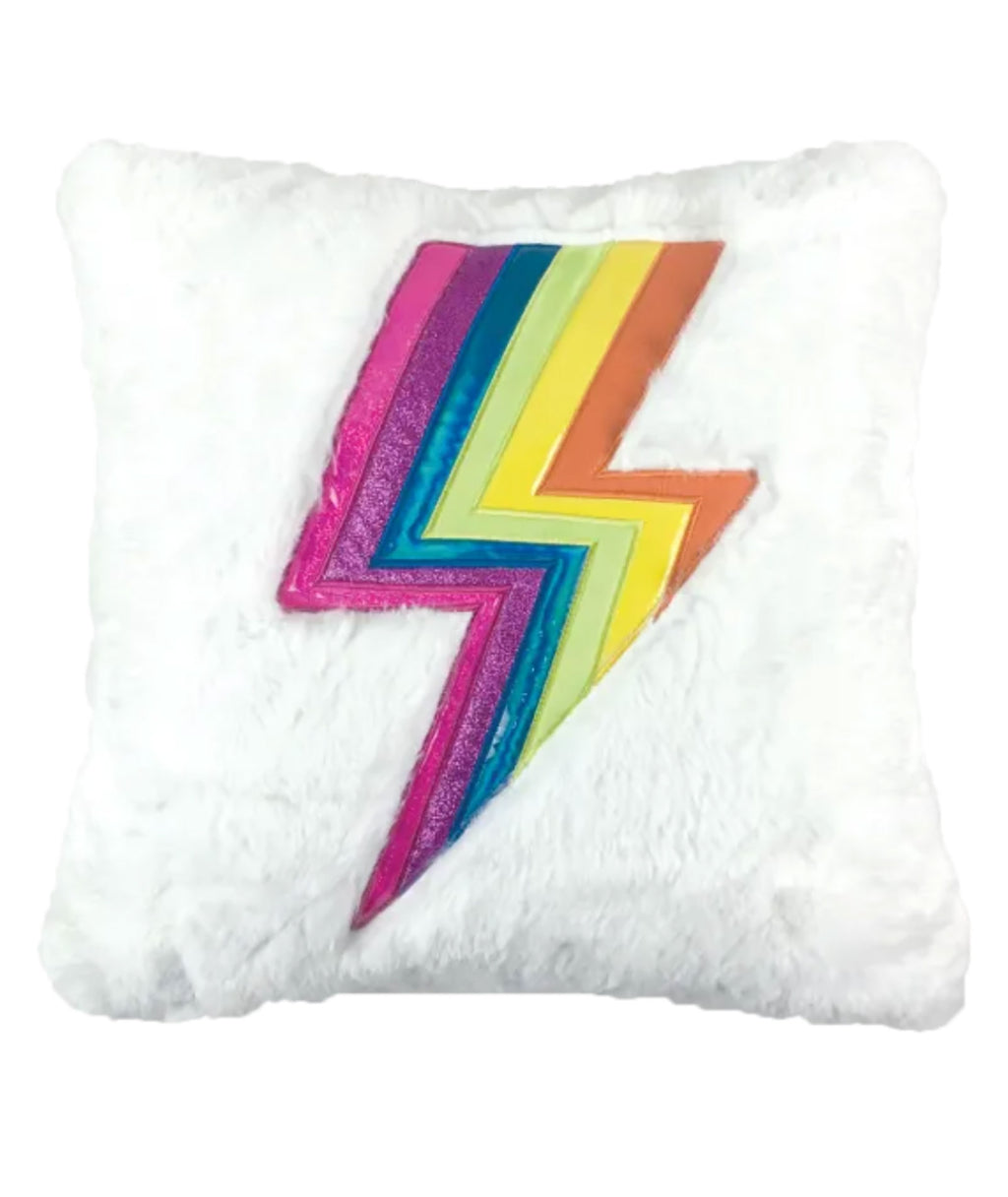 iScream Bolt Fuzzy Pillow