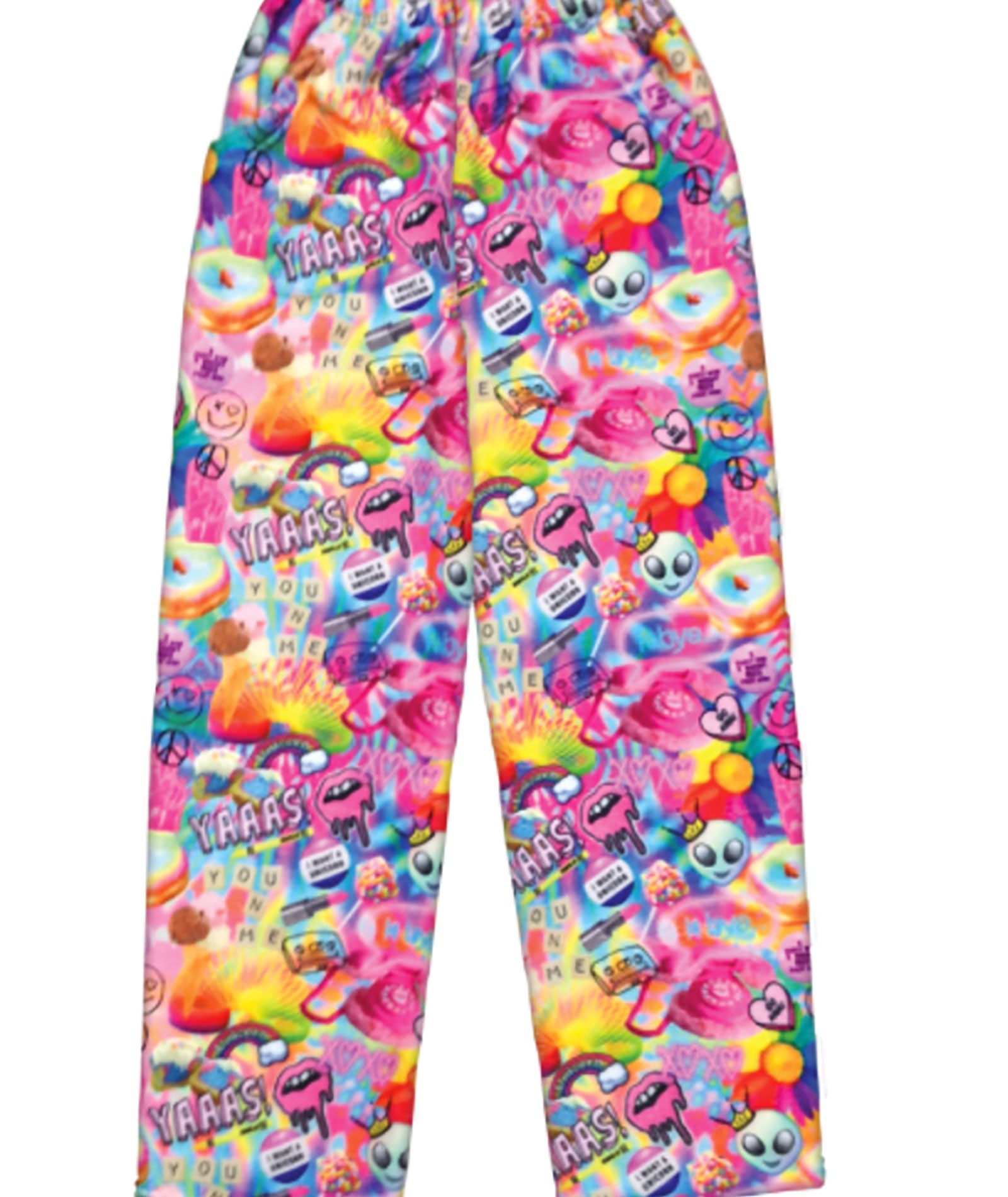 iScream Psychedelic Plush Pants