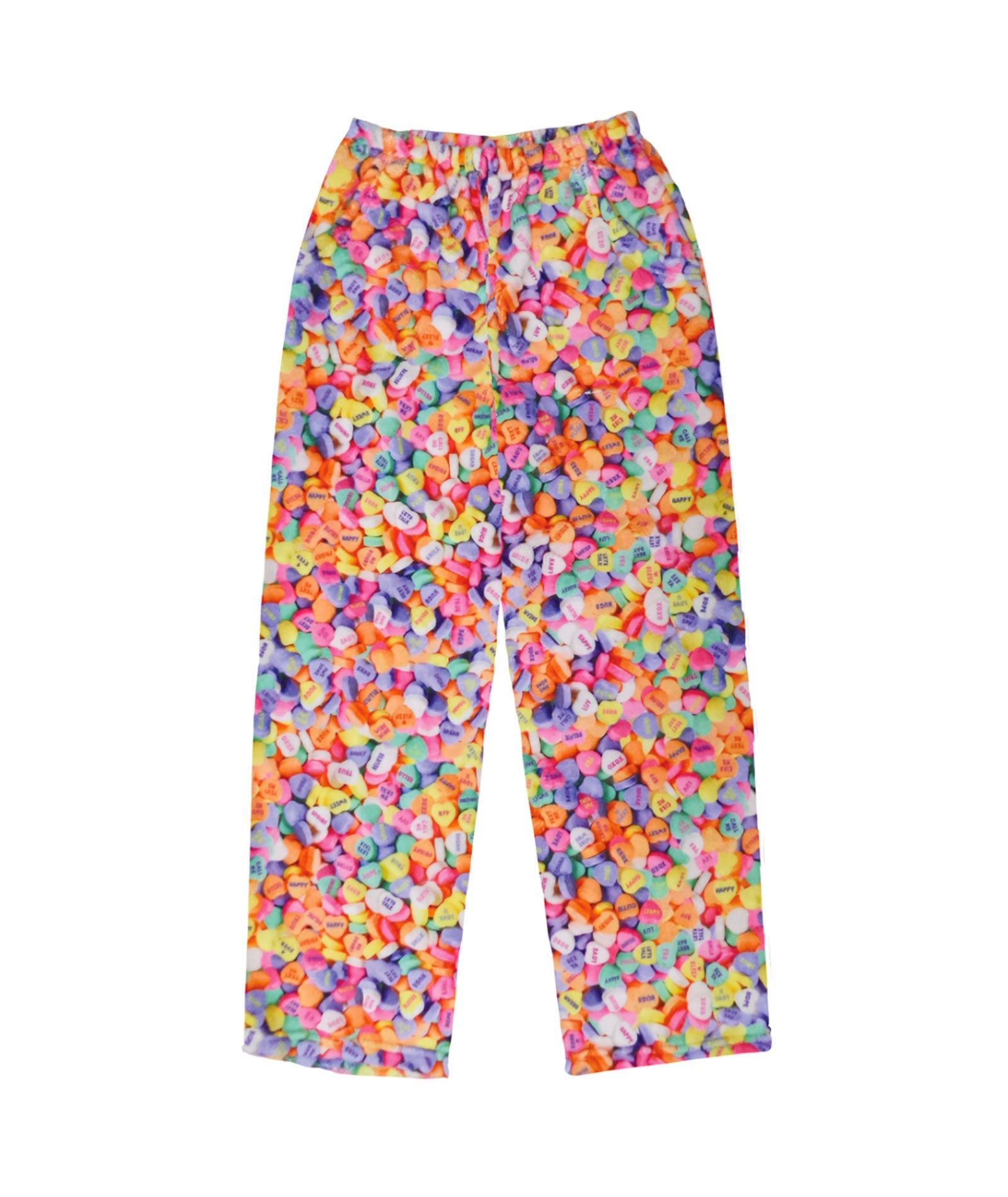 iScream Conversation Hearts Plush Pants