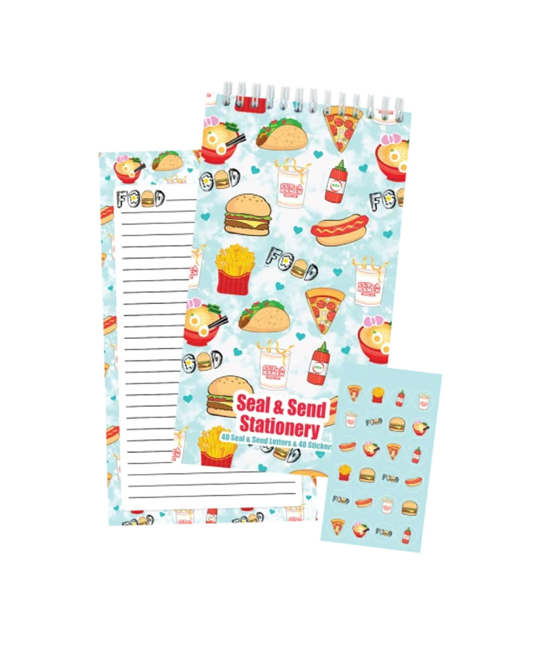 iScream Junk Food Seal and Send Stationery