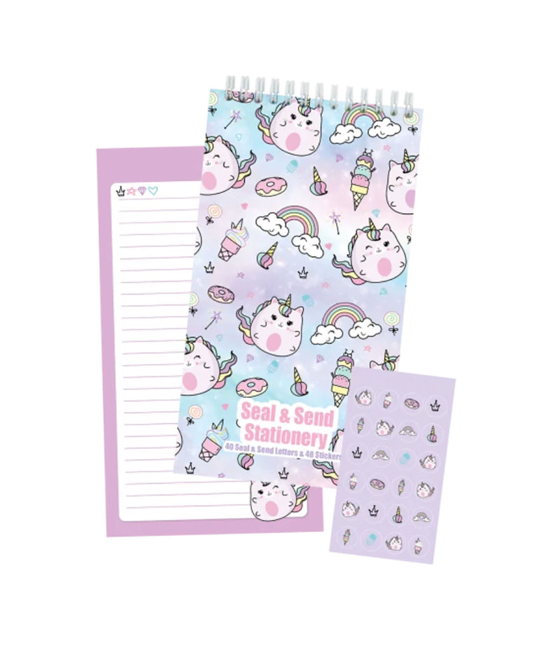 Staci-Nary Pack of 10 Cards Camp Name Sushi