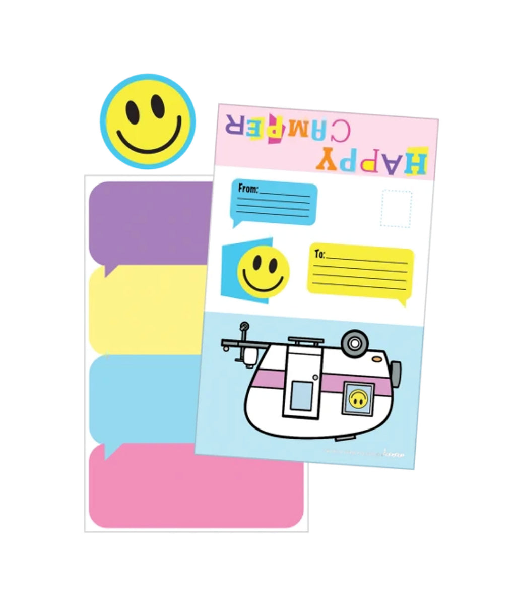iScream Happy Camper Foldable Card Set