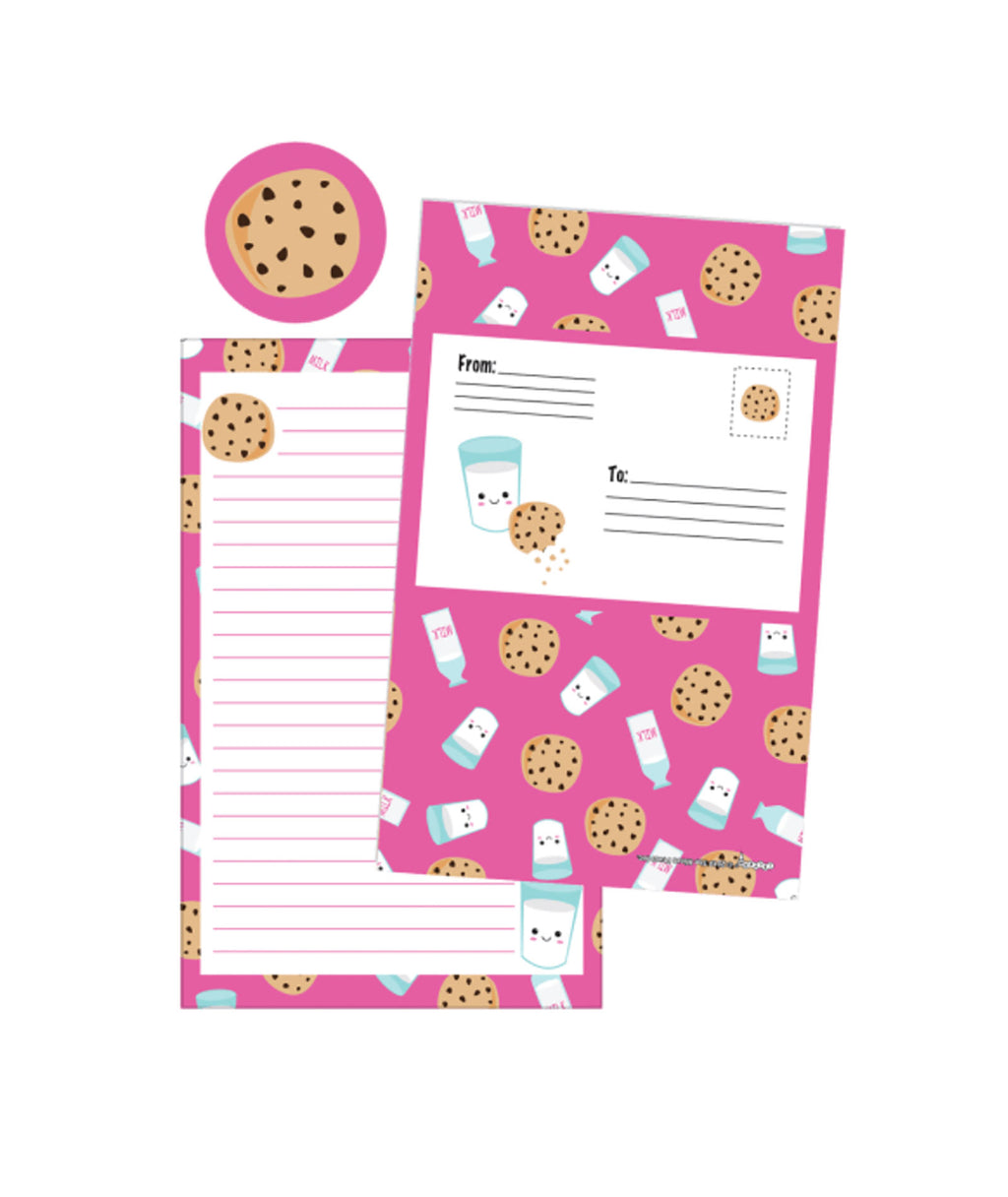 iScream Milk and Cookies Foldable Card Set