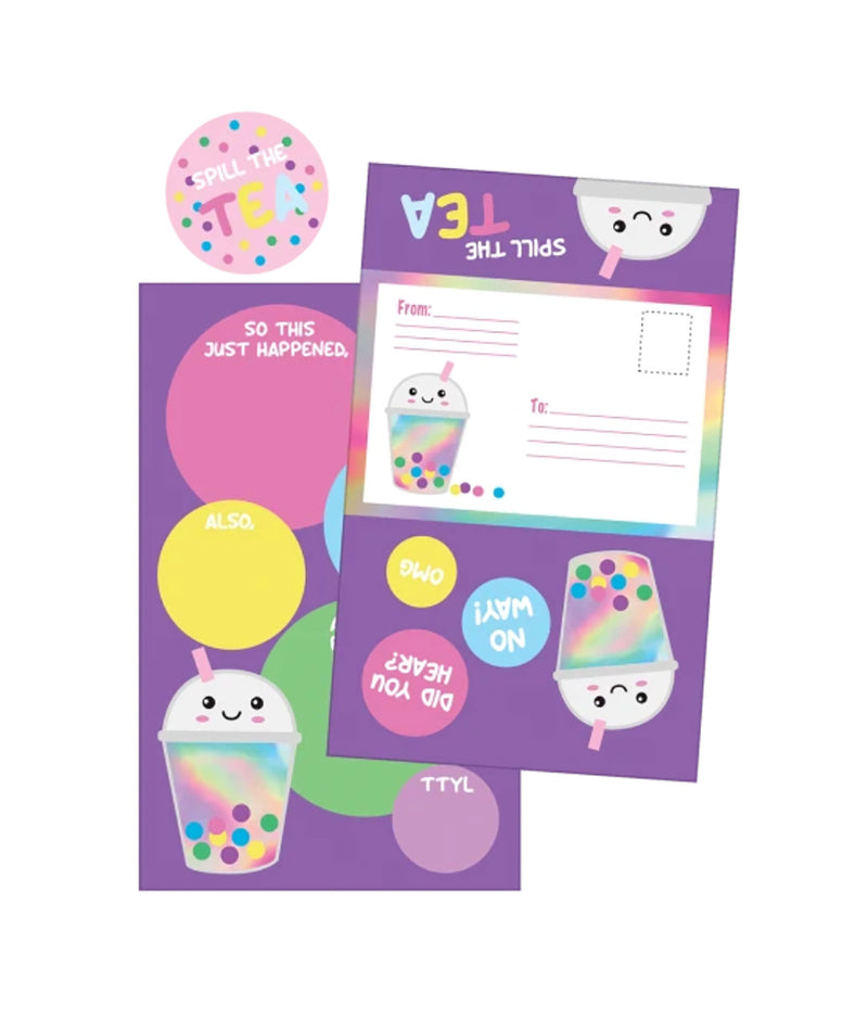 iScream Bubble Tea Foldable Card Set