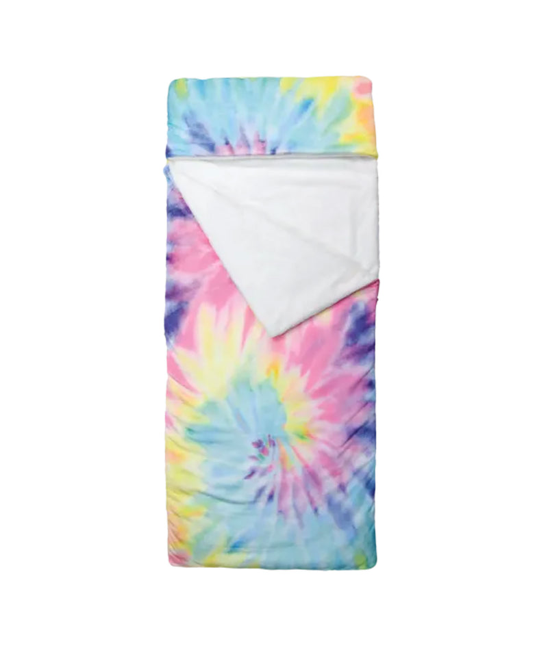 Made with Love and Kisses Tie Dye Heart Pants