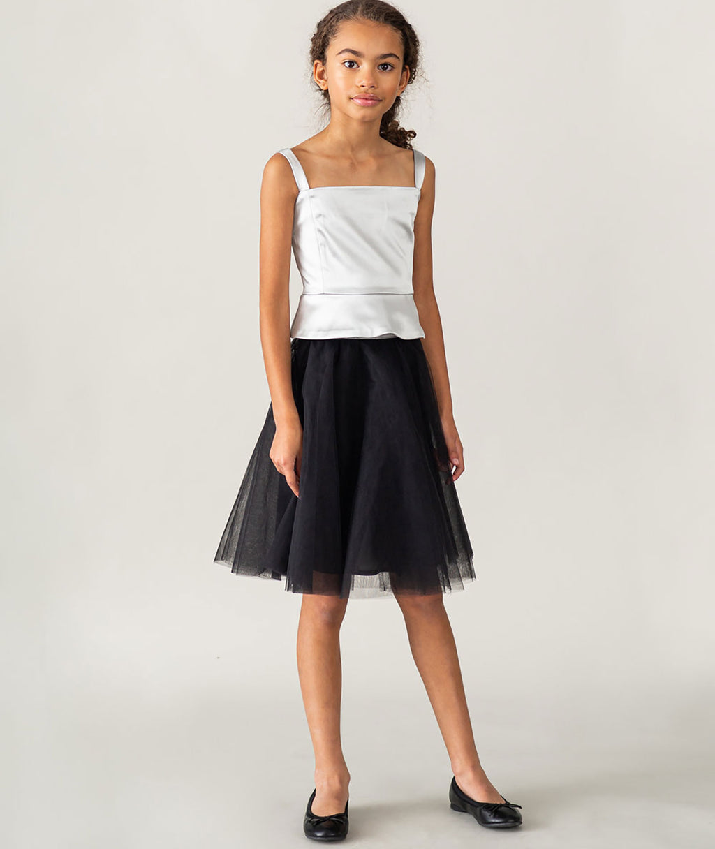 Jeune Otte Girls Black Courtney Skirt