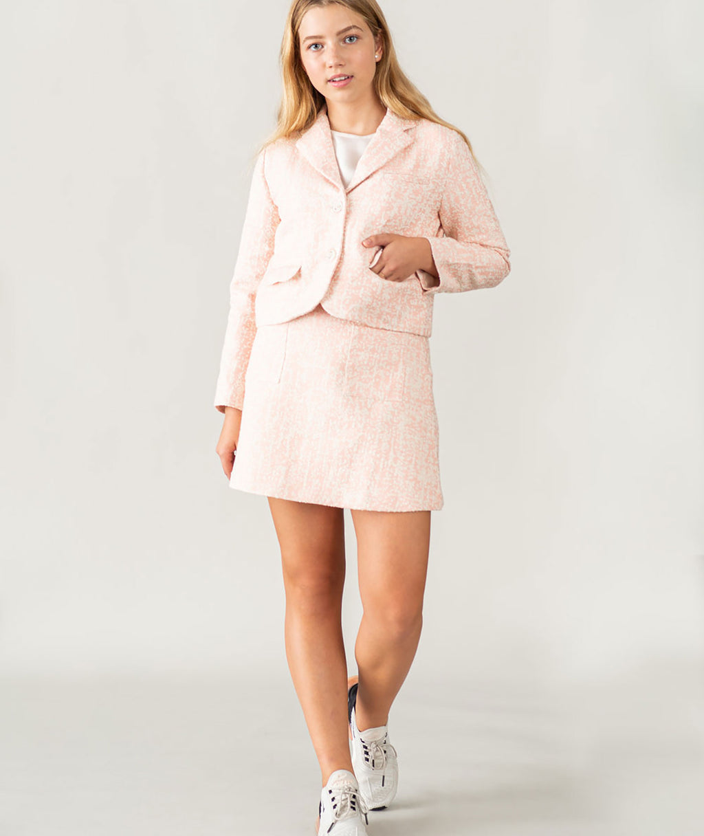Jeune Otte Girls Blush Everly Blazer