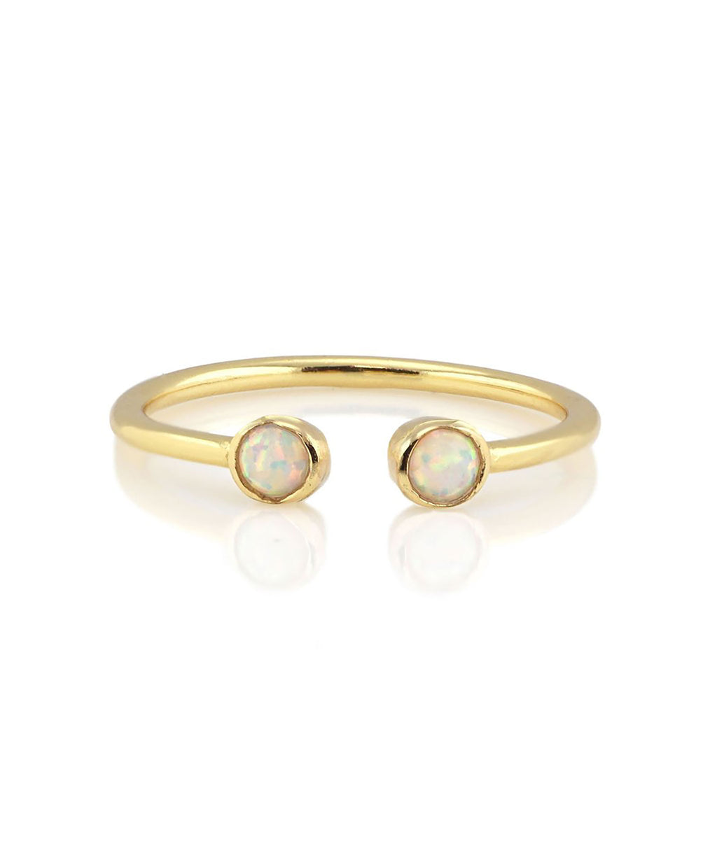 Kris Nations Gold Opal Ring
