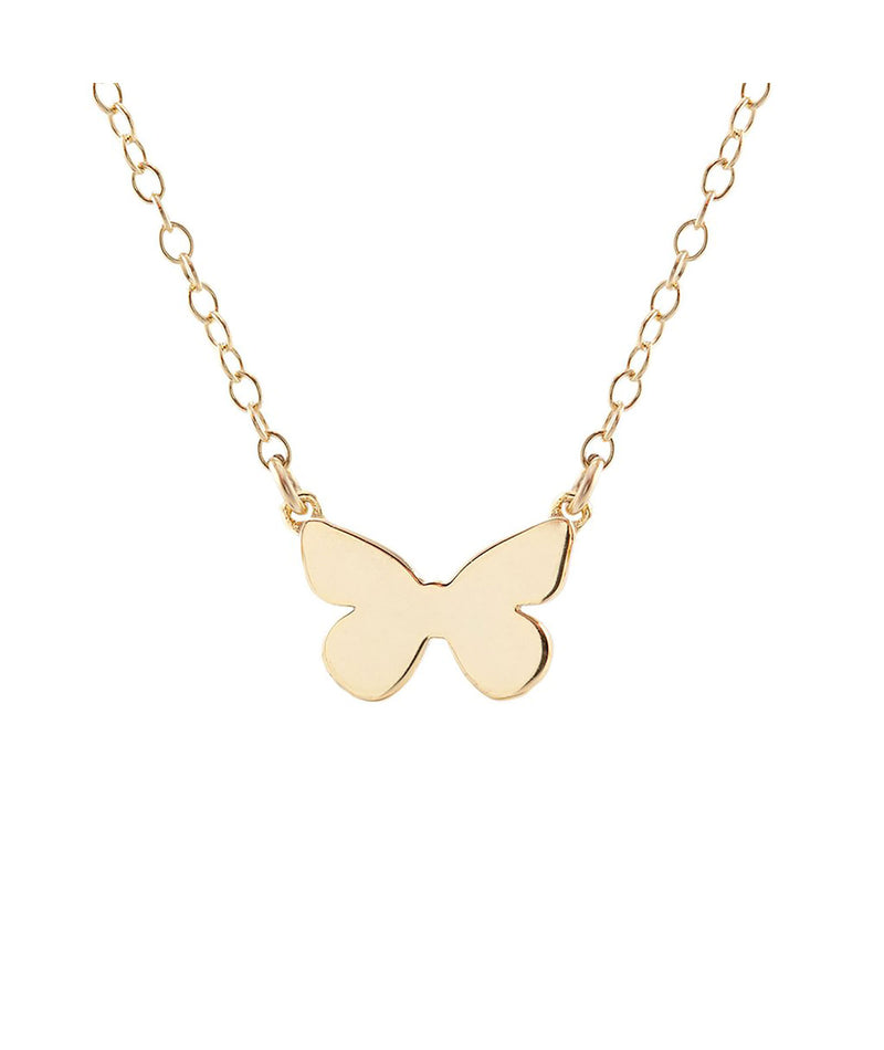 Kris Nations Necklace Butterfly Gold