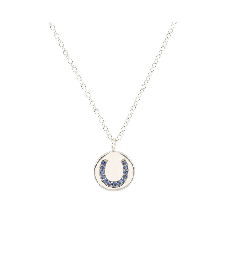 Kris Nations Silver Horseshoe Necklace - Frankie's on the Park