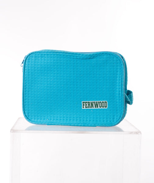 Like Wear Turquoise Fernwood Cosmetic Bag