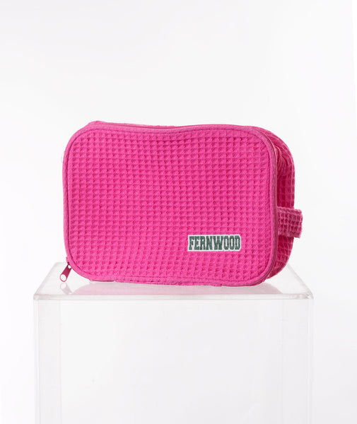 Like Wear Pink Fernwood Cosmetic Bag