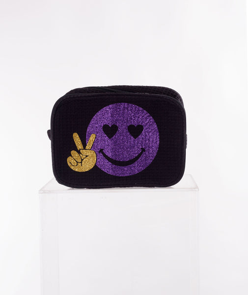 Like Wear Emoji Cosmetic Bag