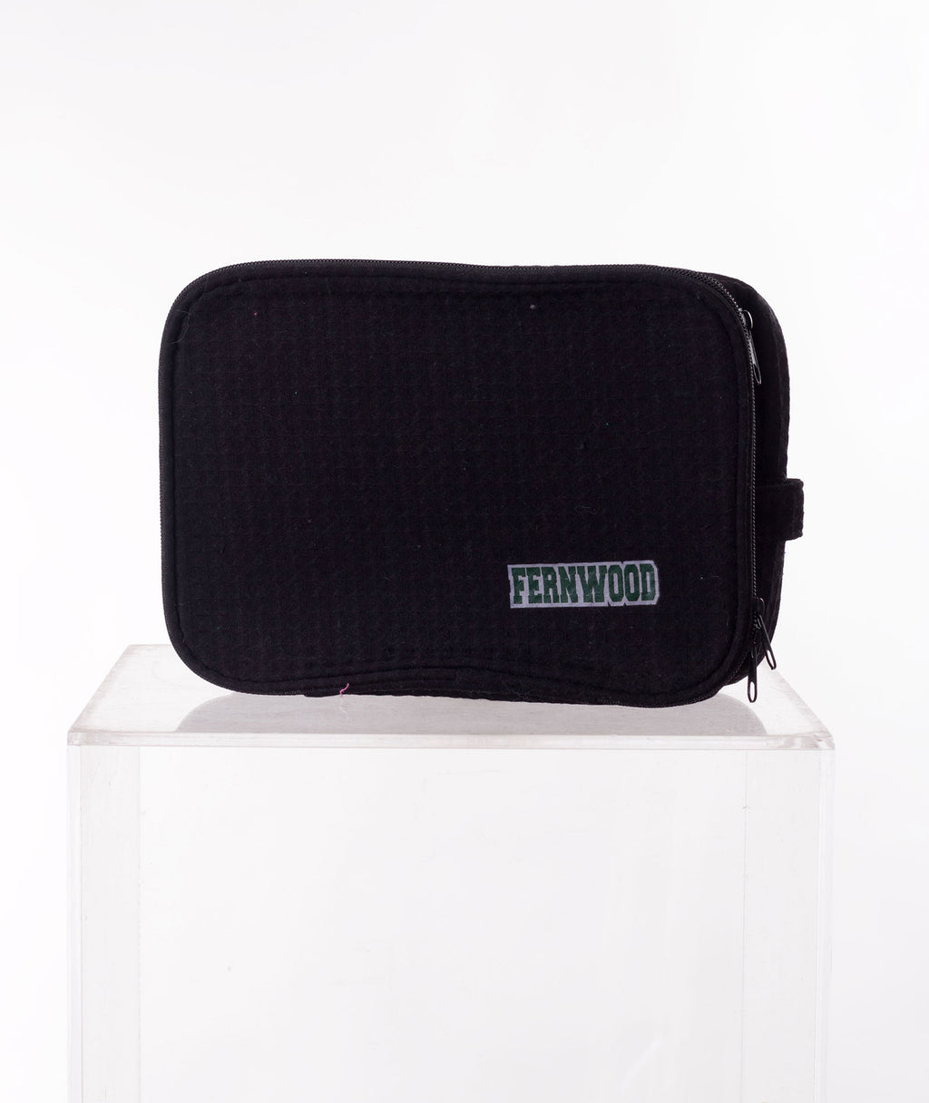 Like Wear Black Fernwood Cosmetic Bag - FINAL SALE - Frankie's on the Park
