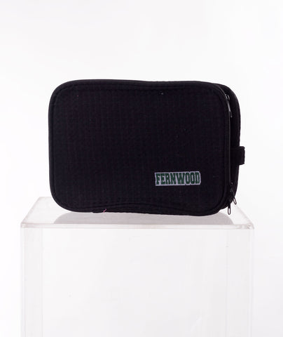 Like Wear Black Fernwood Cosmetic Bag