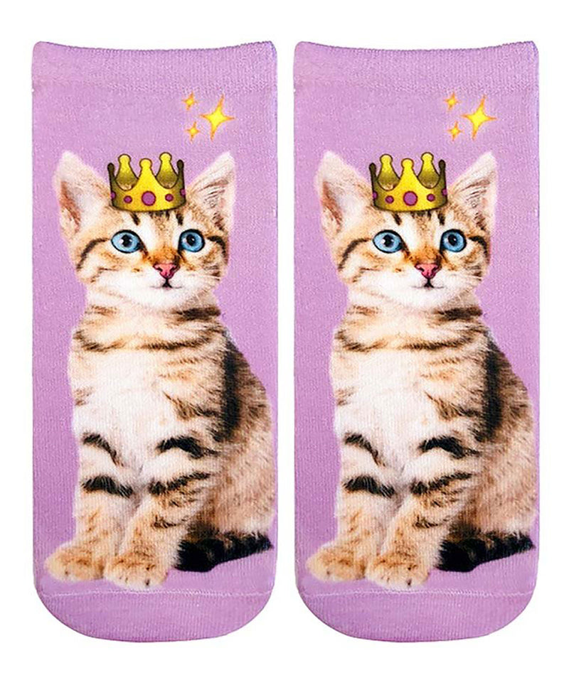 Living Royal Crown Kitten Socks