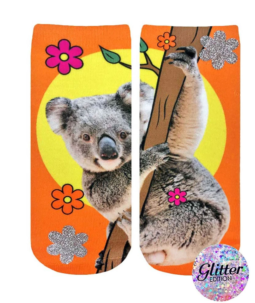 Living Royal Aussie Koala Ankle Socks