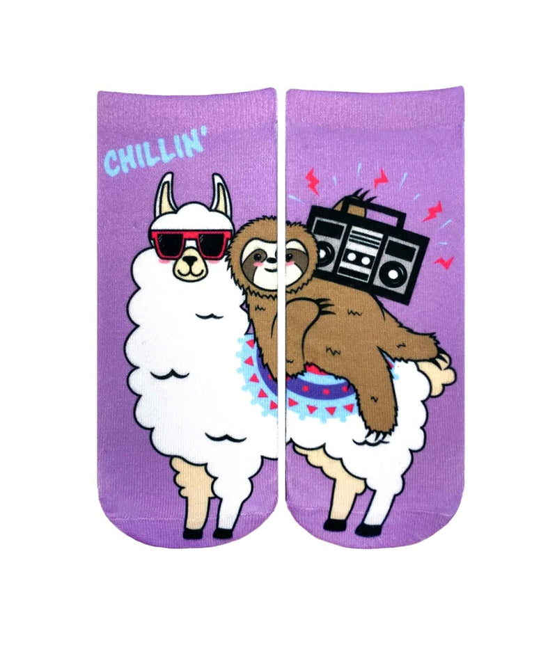 Living Royal Chillin Llama Socks