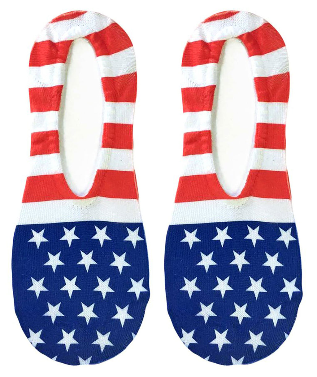 Living Royal Stars and Stripes Liner Socks