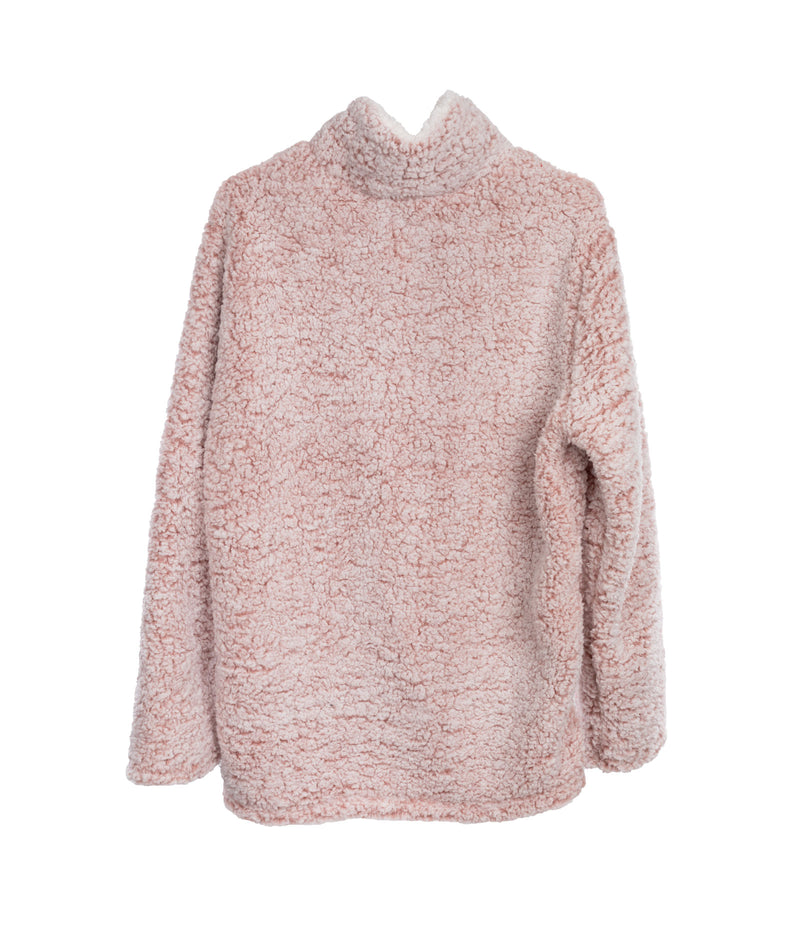 Love Tree Women Mauve Sherpa Pullover
