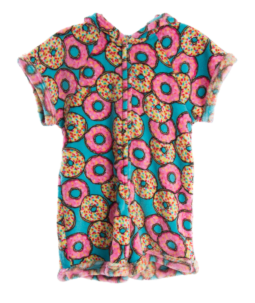 Made with Love and Kisses Girls Donut Romper - Frankie's on the Park