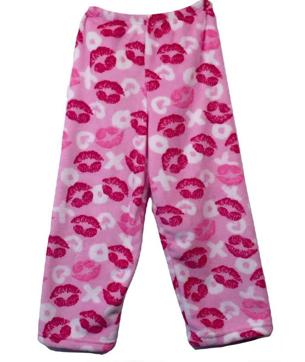 Made with Love and Kisses XO Lips Pajama Pants - Frankie's on the Park
