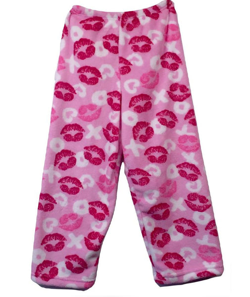 Made with Love and Kisses XO Lips Pajama Pants