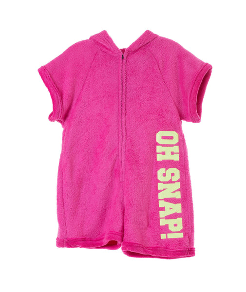 Made with Love & Kisses Girls Oh Snap Romper