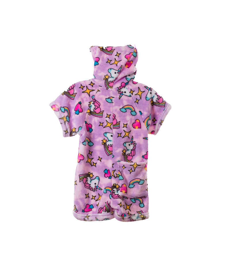 Made with Love and Kisses Girls Unicorn Romper - Frankie's on the Park