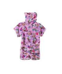 Made with Love and Kisses Girls Unicorn Romper