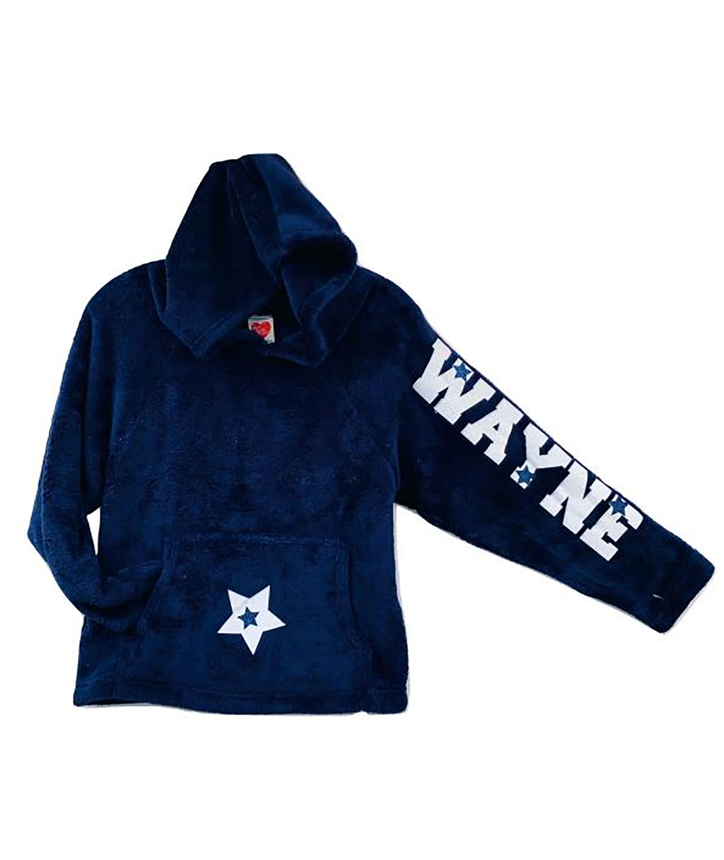 Custom Camp Name Star Pullover