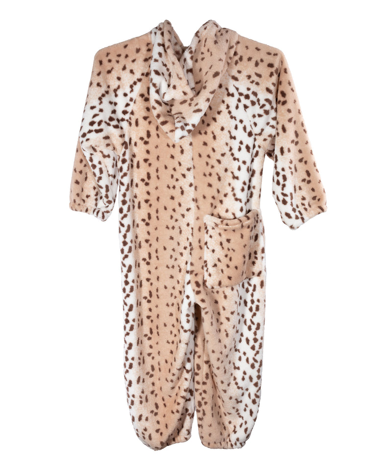 Made with Love and Kisses Leopard Gold Heart Jumpsuit
