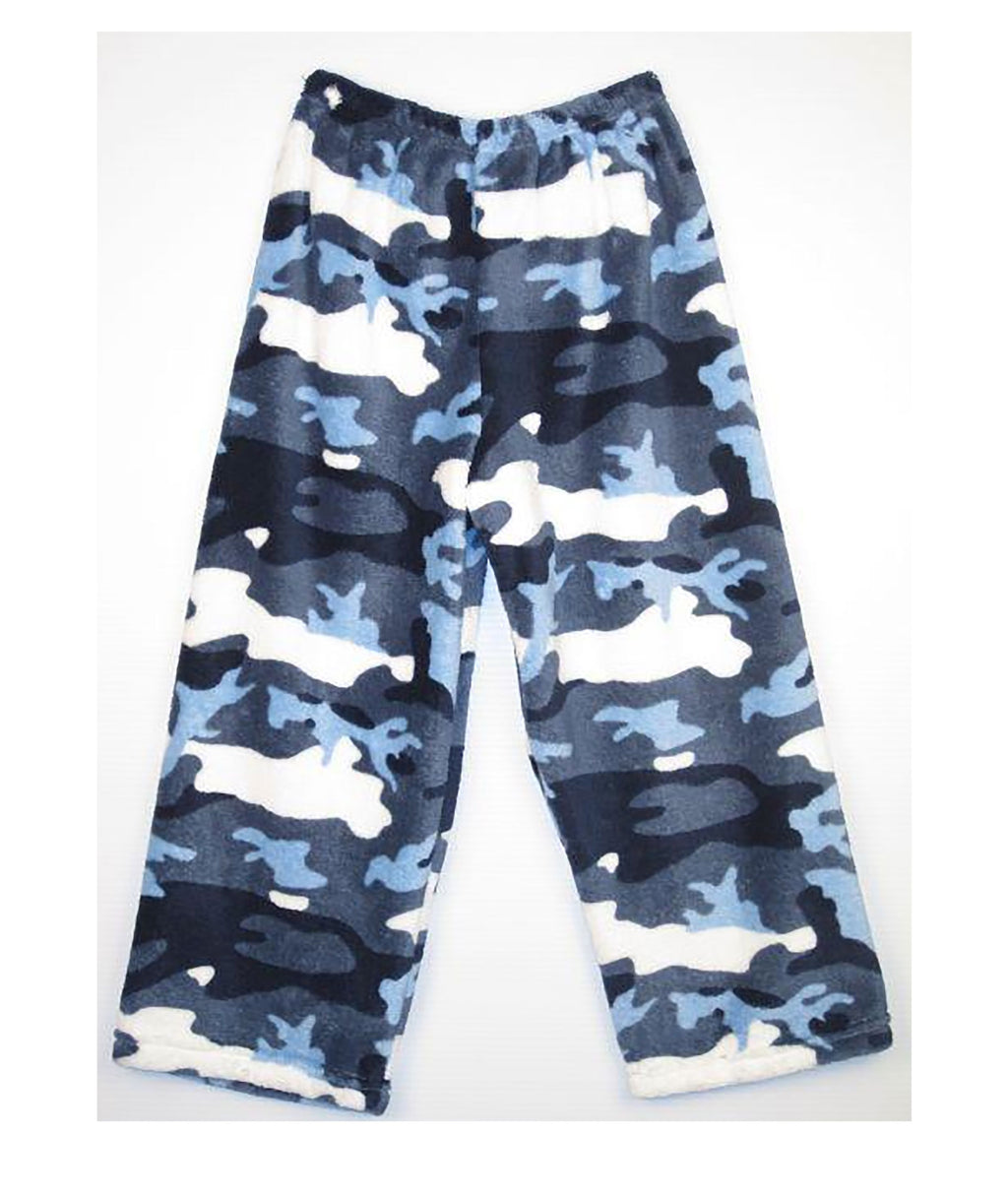 Made with Love and Kisses Camo Blue Pants