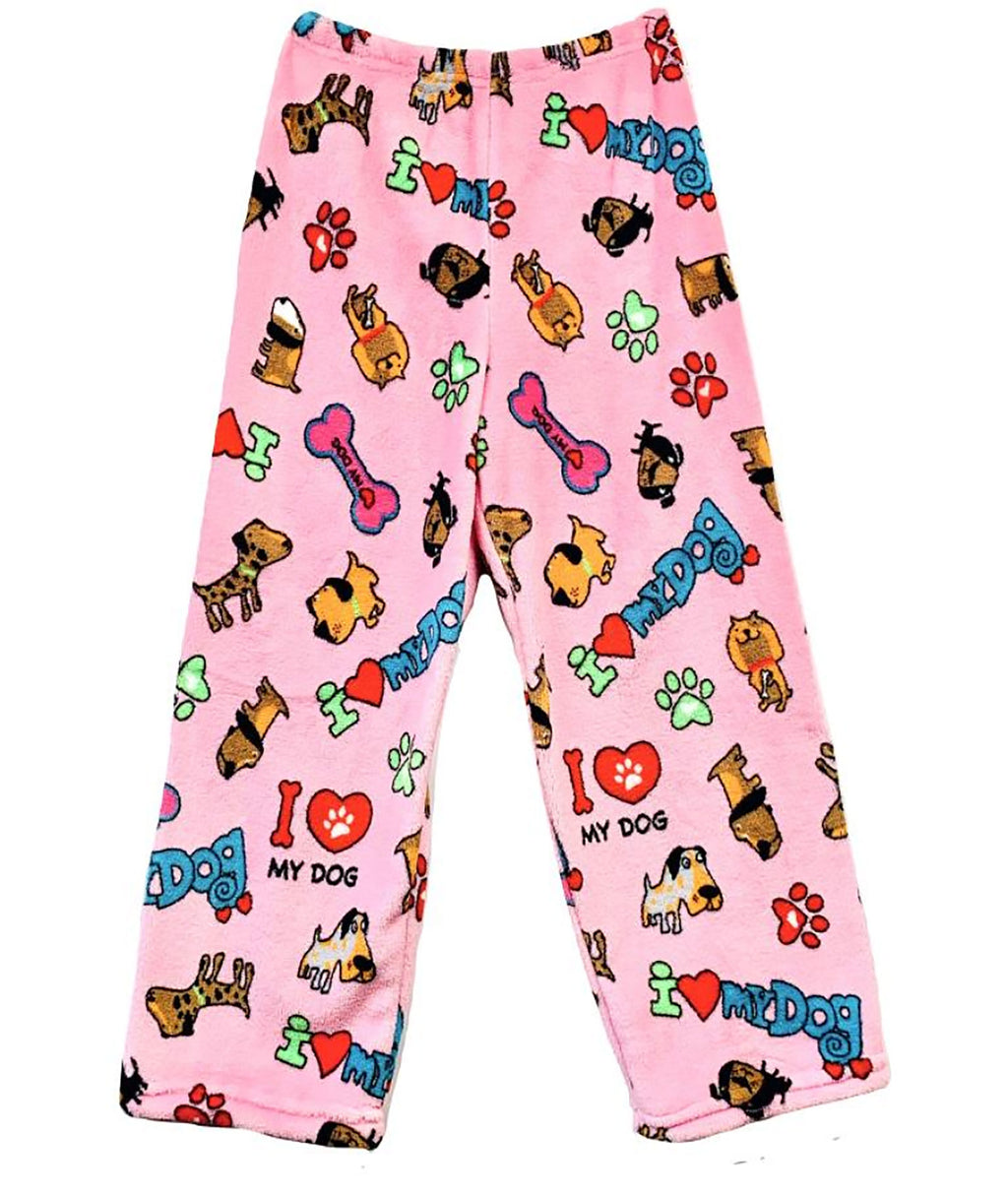 Made with Love and Kisses I Love Dogs Pants