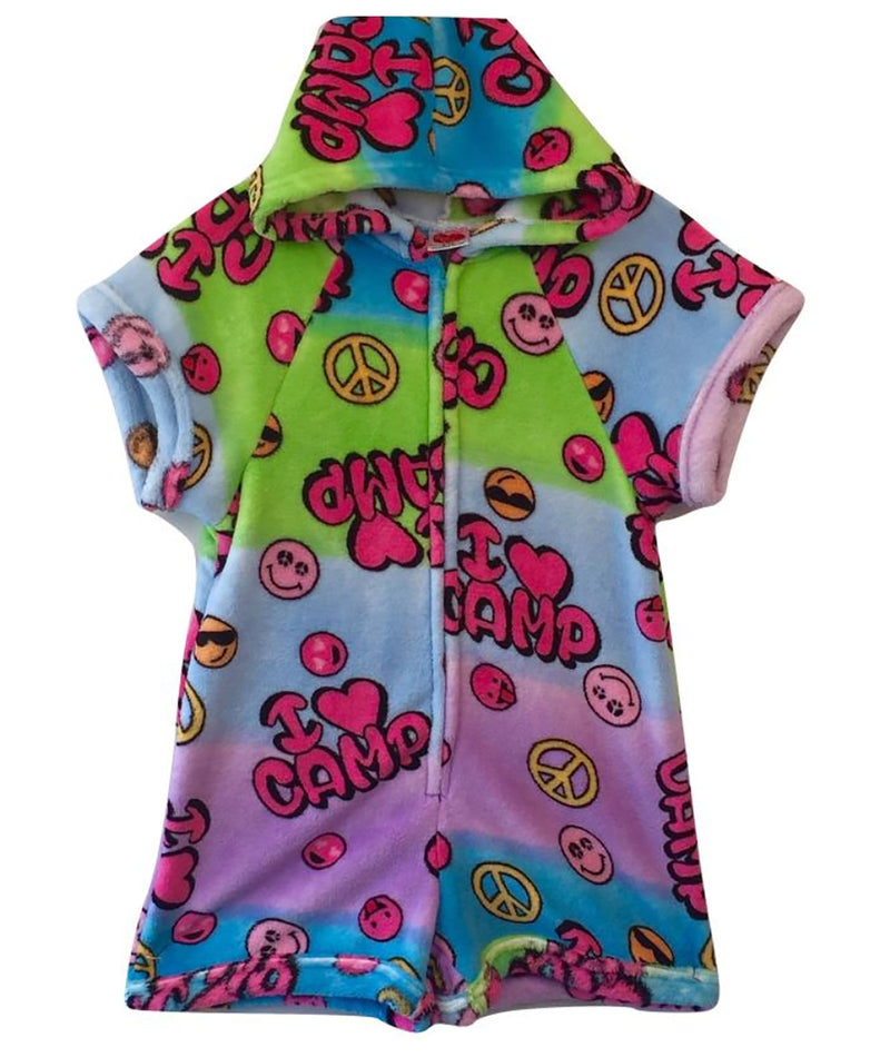 Made with Love and Kisses Girls Romper I Love Camp