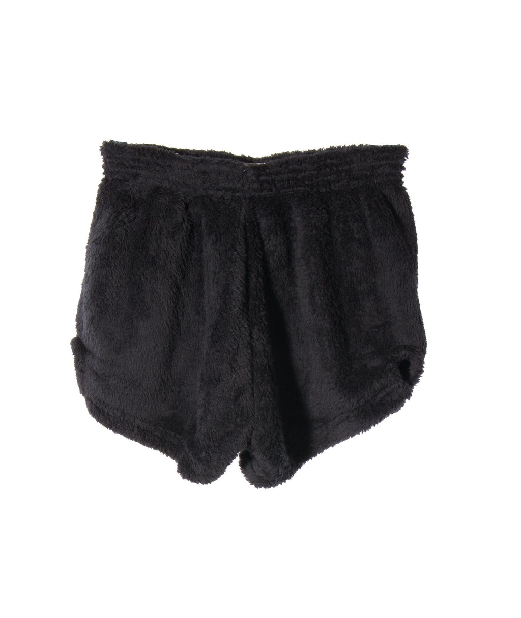 Made with Love and Kisses Girls Black Bolt Shorts