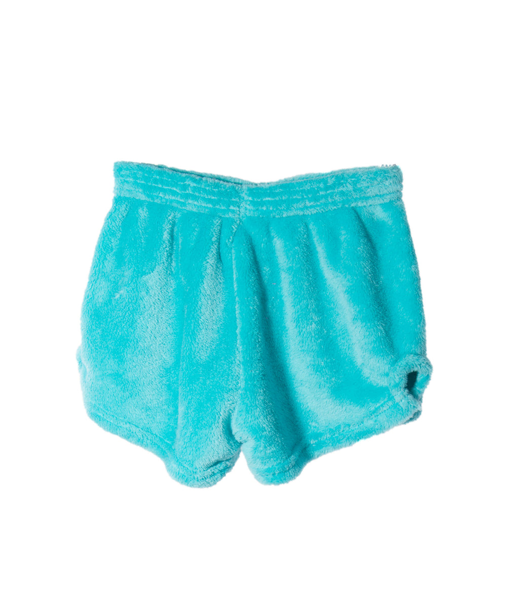 Made with Love and Kisses Girls Blue Pineapple Shorts