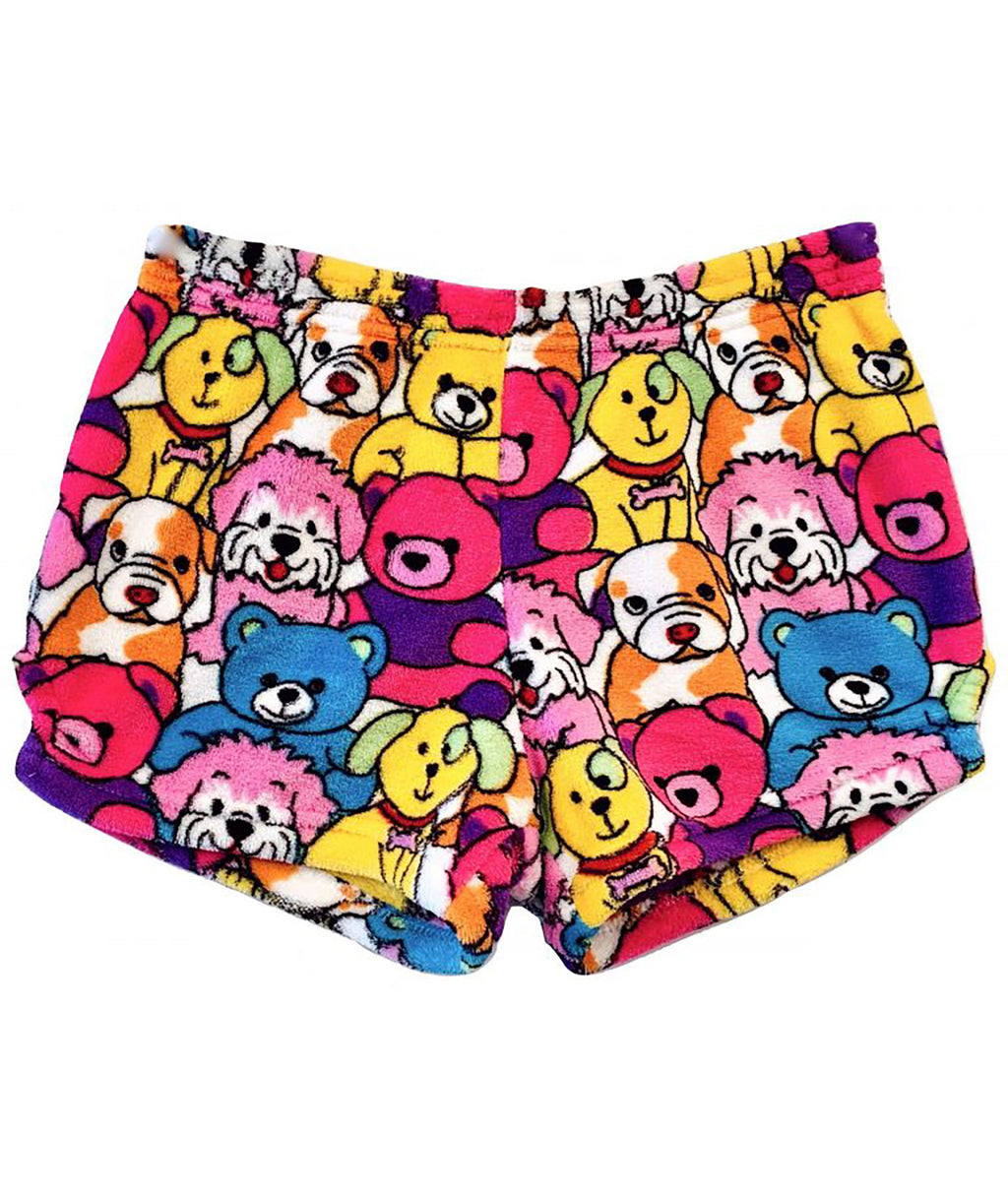 Made with Love and Kisses Pups and Bears Shorts