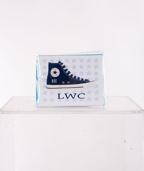 Staci-Nary Custom Converse Stationery