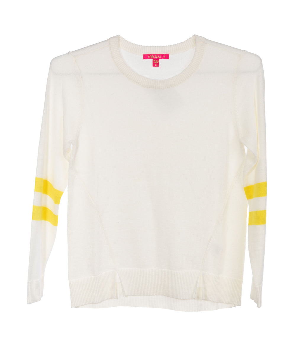 Me.n.u. Girls Yellow Stripe Sweater