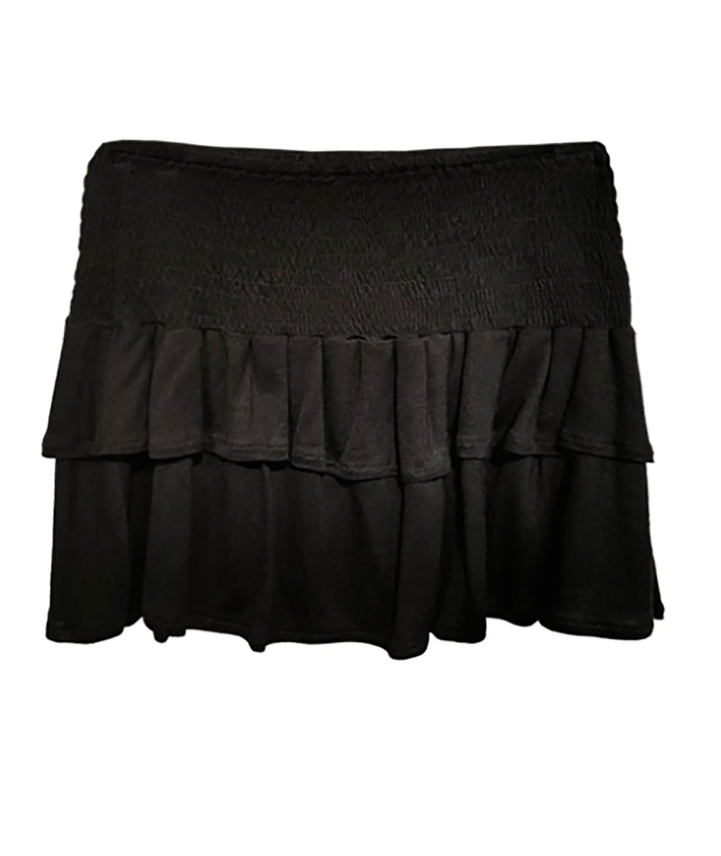 Me.n.u. Girls Black Smock Skirt