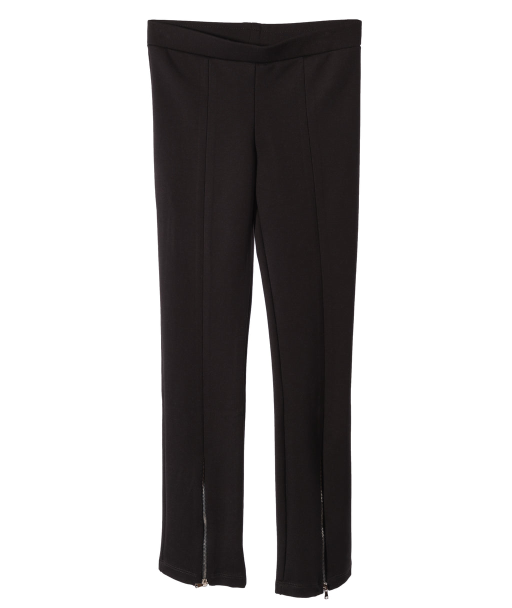 Me.n.u. Girls Black Zip Pants