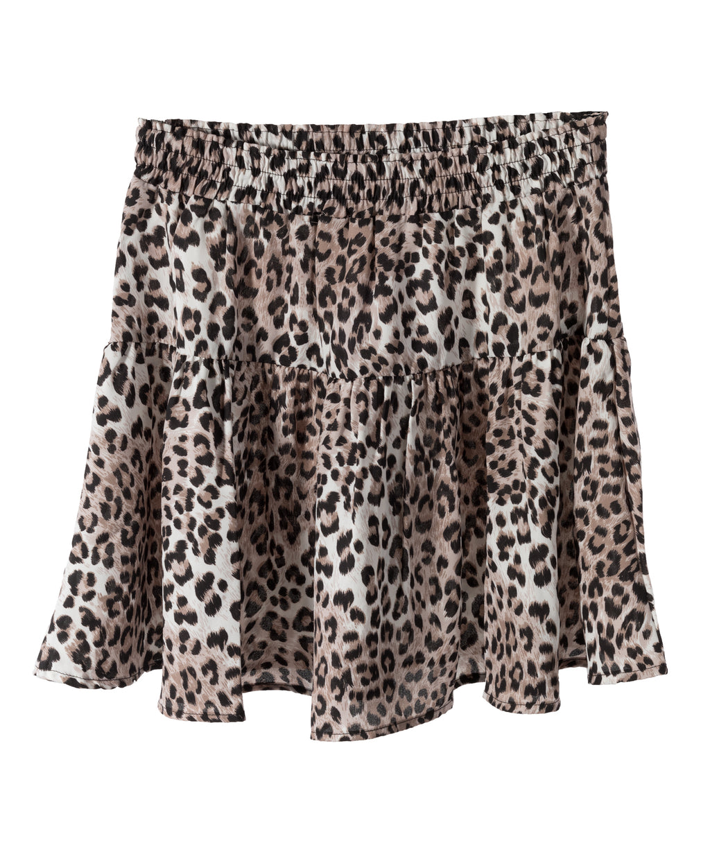 Me.n.u. Girls Leopard Skirt
