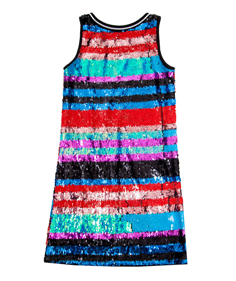 MIA Girls Glitter Sequin Dress