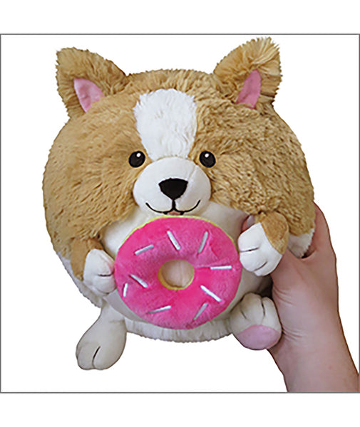 Mini Squishable Corgi with Donut