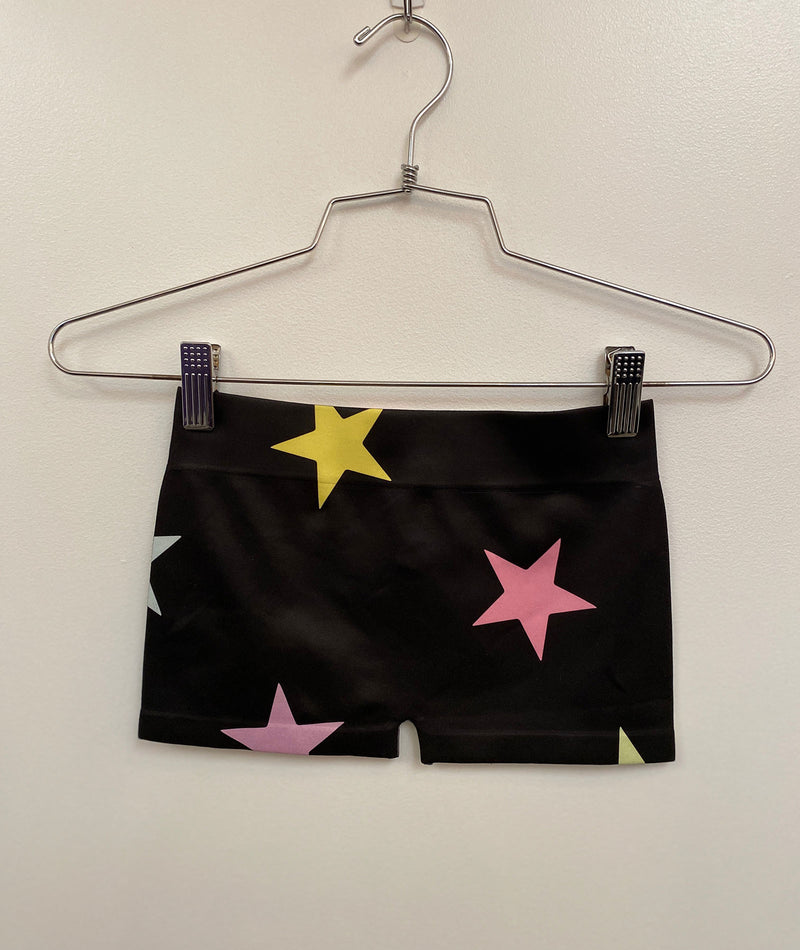 Malibu Sugar Girls Pastel Star Boy Shorts